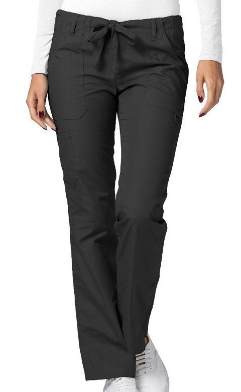 Low-Rise Drawstring Pants Pewter Universal
